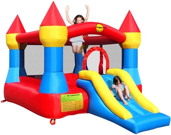 Rotaļu laukums Happy Hop Bouncy Castle Bouncer With Slide LV