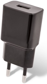 Setty USB Wall Charger + USB Type-C Cable 1m Black