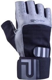 Spokey Guanto II Fitness Gloves Black/Grey XL