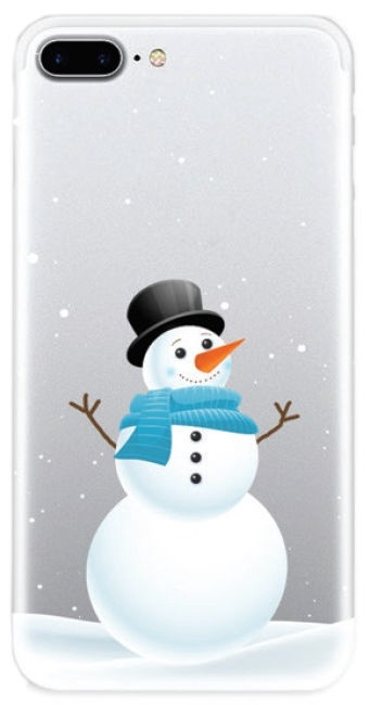 TakeMe Special Design Back Case For Samsung Galaxy S9 Snowman