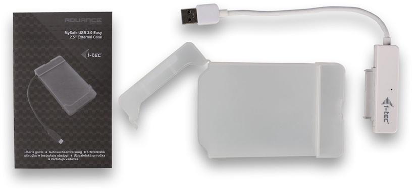 """I-Tec MySafe 2.5"""" External Hard Drive Case USB 3.0 MYSAFEU314"""