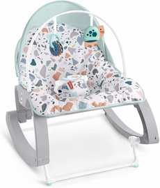 Fisher Price Deluxe Infant To Todler Rocker GMD21