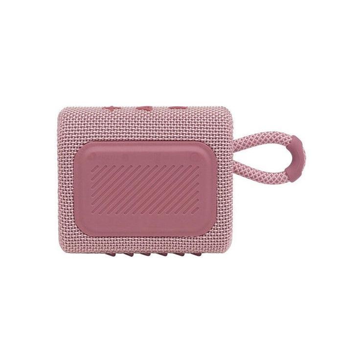 Bezvadu skaļrunis JBL GO 3, rozā, 4 W