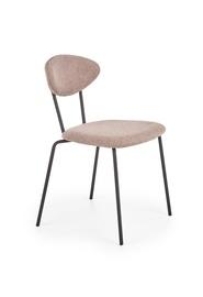 Ēdamistabas krēsls Halmar K361 Dark Beige/Walnut, 1 gab.