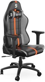 Spēļu krēsls SilentiumPC Gaming SR400, oranža