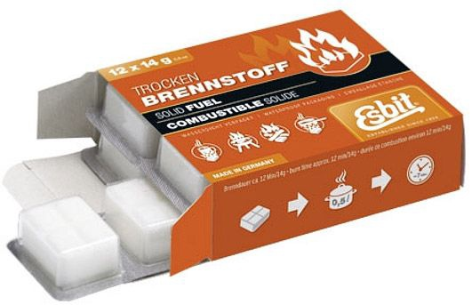 Esbit Solid Fuel-tablets 12x14g