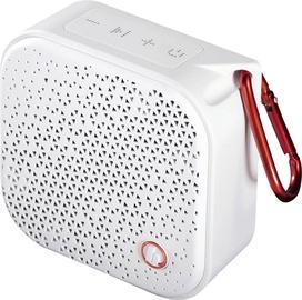 Bezvadu skaļrunis Hama Hama Bluetooth Pocket 2.0, balta, 3.5 W