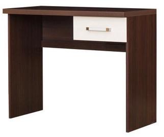 Письменный стол Bodzio Amadis A31 Vanilla/Brown