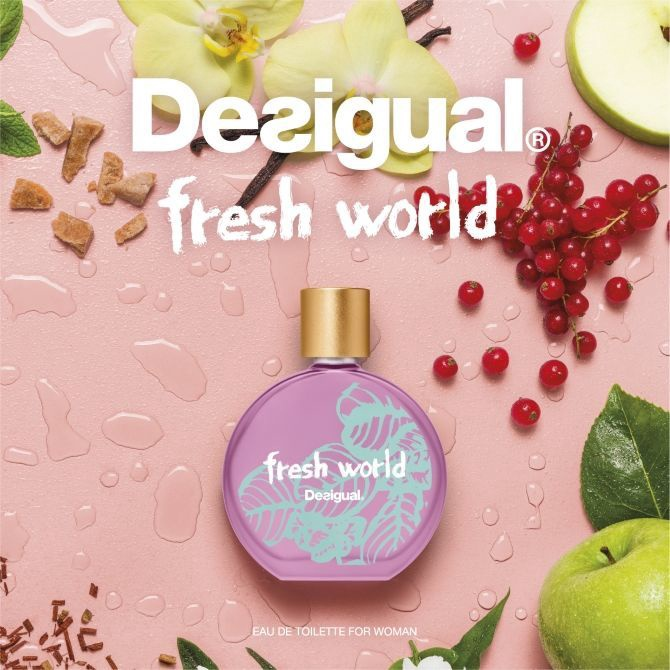 Smaržas Desigual Fresh World, 100 ml EDT