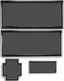 DEMCiflex Dust Filter Dark Base Pro 900 Set