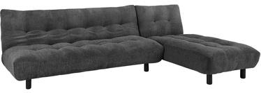 Stūra dīvāns Home4you Lenny Grey, 268 x 100 x 88 cm