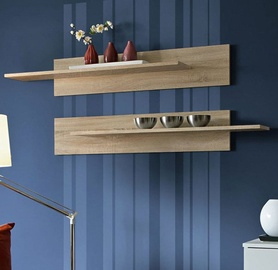 ASM Mix Hanging Shelf 2pcs Sonoma Oak