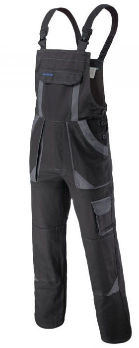 Art.Master Procotton Bib-Pants Grey 56