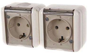 REML 229215200 Double Socket Transparent