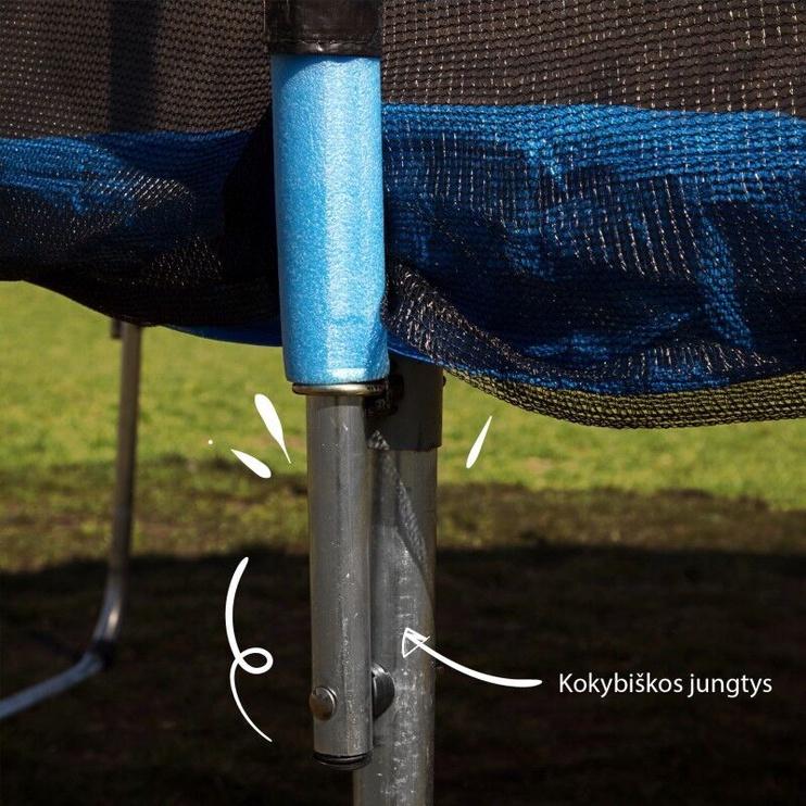Батут с защитной сеткой 4,04 м. (13FT-2)