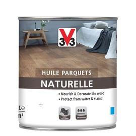 V33 Naturelle Wood Floor Oil White 0.75l