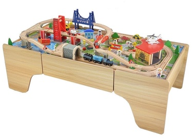 4IQ Fairytale City Wooden Game Table