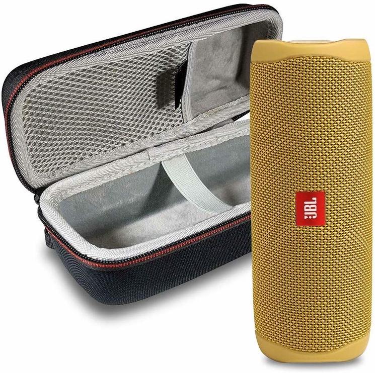 Bezvadu skaļrunis JBL Flip 5 Yellow, 20 W