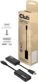 Club 3D Mini DisplayPort To HDMi 2.0 4K60Hz Active Adapter Black