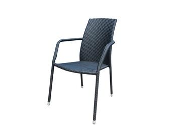 Etienne 47222 Garden Chair Black