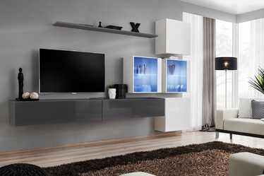 ASM Switch XIX Wall Unit Graphite/White