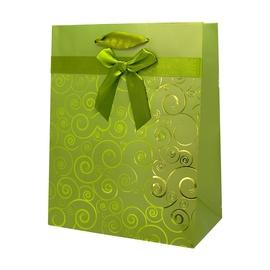 SN Gift Bag 33x10.2x45.7cm Green