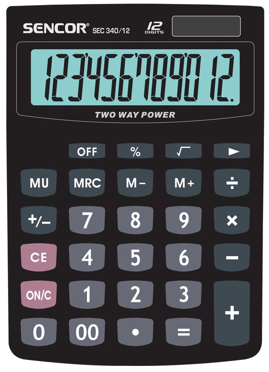 Sencor Table Calculator SEC 340/12
