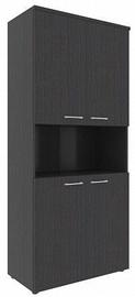 Skyland XTEN Office Cabinet XHC 85.4 Legno Dark