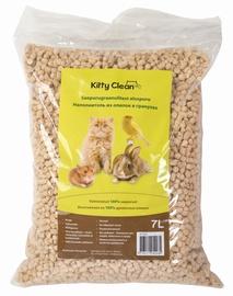 Kaķu pakaiši Kitty Clean Wood Pellets Cat Litter 7l