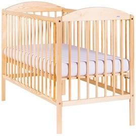 Детская кровать Drewex Kuba II Pine Pine, 124x65 см