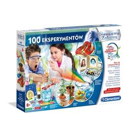 Izglītojoša spēle Clementoni 100 Eksperimenti 50572