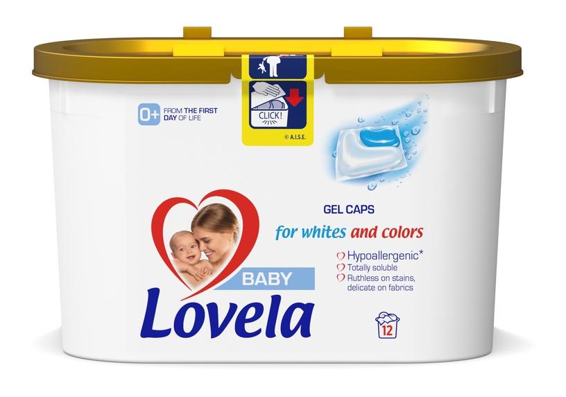 Kapsulas mazgāšanai Lovela Baby Gel, 12 gab.