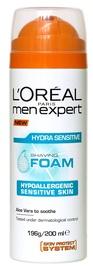 L´Oreal Paris Men Expert Hydra Sensitive Shaving Foam 200ml