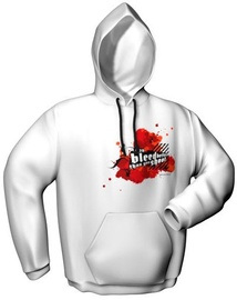 GamersWear You Bleed Better Hoodie White XL