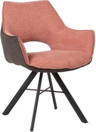 Home4you Eddy Chair Pink/Dark Grey