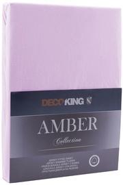 DecoKing Amber Bedsheet 160-180x200 Lilac