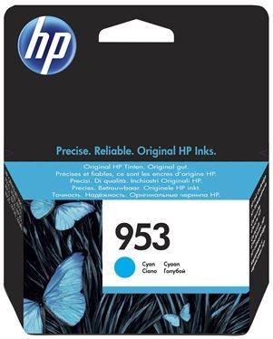 HP 953 Original Ink Cartridge 10ml Cyan