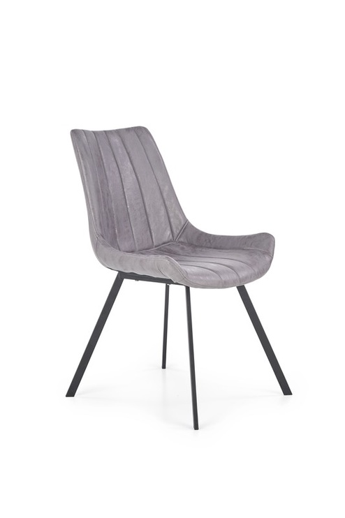 Ēdamistabas krēsls Halmar K - 279 Grey/Black