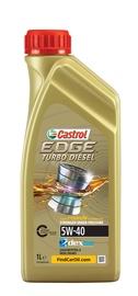 Motoreļļa Castrol Edge Titanium Turbo Diesel 5W/40 Engine Oil 1l