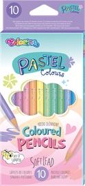 Colorino Pastel Coloured Pencils 10pcs