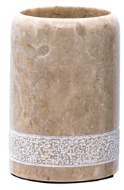 Ridder Posh Glass For Toothbrushes Marble Beige