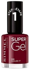 Лак для ногтей Rimmel London Super Gel By Kate 91, 12 мл