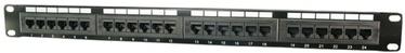 Коммутационная панель Logilink CAT 5 Patch Panel 24-Port Unshielded Black