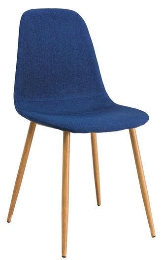 Ēdamistabas krēsls Signal Meble Fox Dark Blue, 1 gab.