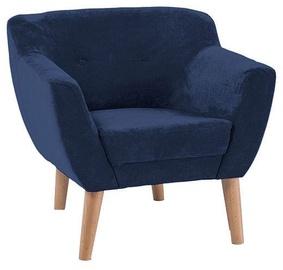 Atzveltnes krēsls Signal Meble Bergen 1 Blue, 78x54x76 cm