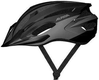 Шлем Alpina MTB17 9719 3 35, черный/серый, 580 - 610 мм