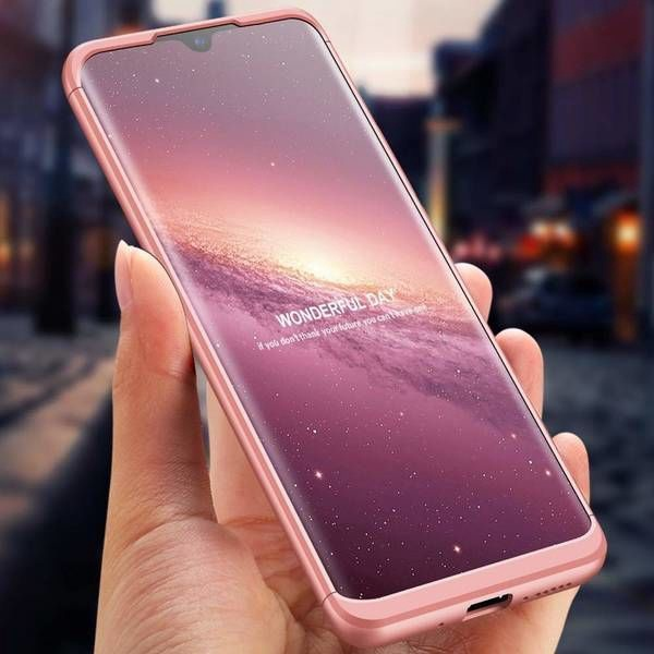 GKK 360 Protection Case For Huawei Mate 20 Pink