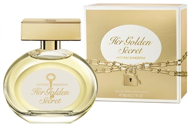 Tualetes ūdens Antonio Banderas Her Golden Secret 80ml EDT