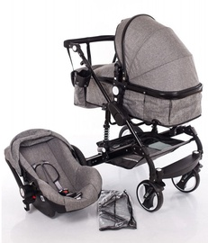 Louke Kinder Gray 3In1
