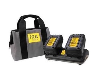 Zāles pļāvēja piederumi Fxa 2x18v FXA xclick powerpack, 4000 mAh